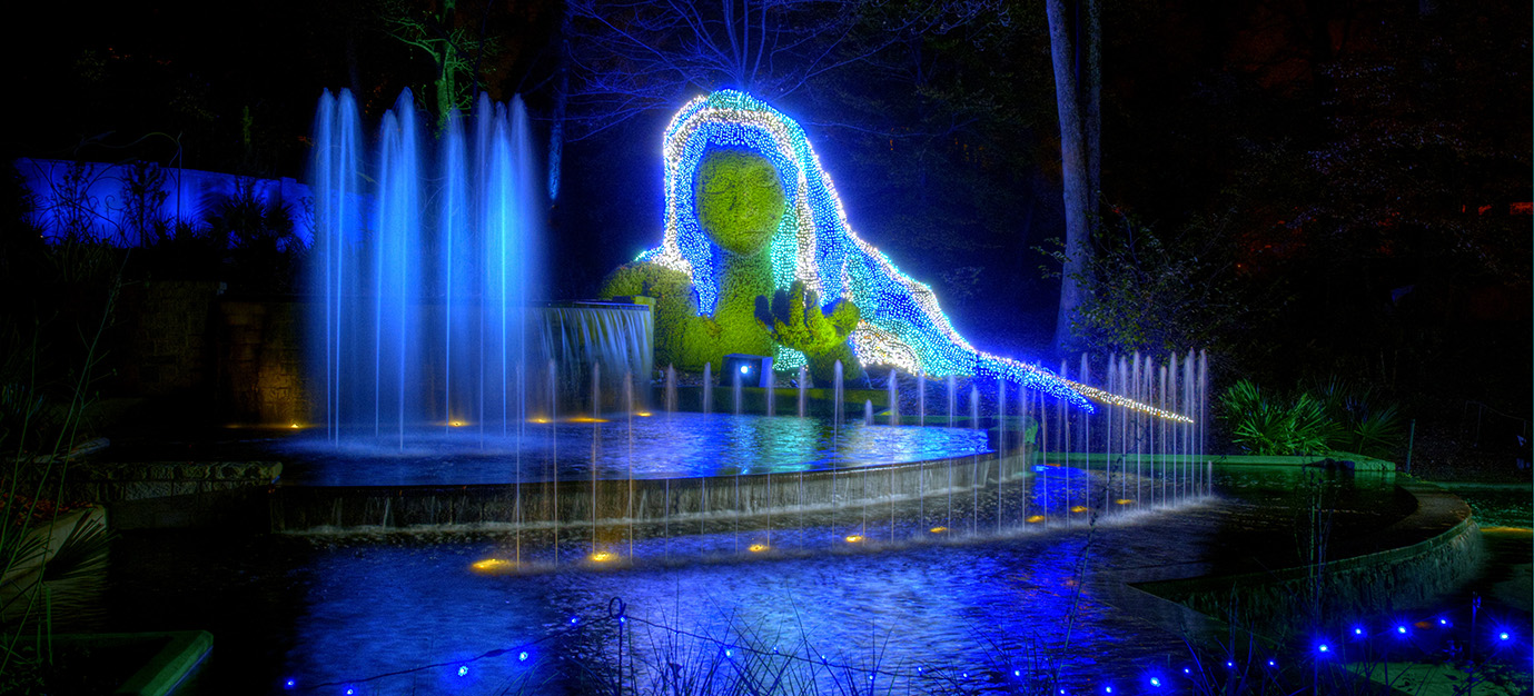 Atlanta Botanical Gardens: Bright Lights in the Flower Beds | Alexan ...